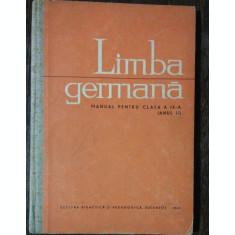 LIMBA GERMANA -MANUAL PENTRU CLASA A IX-A