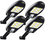 Lampa Solara 6 SMD Panou Solar Senzor Miscare Lumina Si Telecomanda CL-181