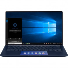 Laptop Asus ZenBook 14 UX434FL-A6006T 14 inch FHD Intel Core i5-8265U 8GB DDR3 512GB SSD nVidia GeForce MX250 2GB Windows 10 Home Royal Blue