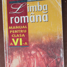 Limba romana. Manual clasa a 6-a
