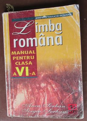 Limba romana. Manual clasa a 6-a foto
