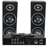 Cumpara ieftin Set karaoke amplificator usb 2mic+2 boxe 6.5