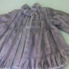 O haina de blana de nurca ptr. dame  unicat