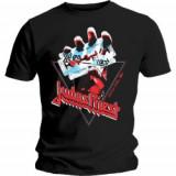Tricou Unisex Judas Priest: British Steel Hand Triangle
