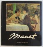 MANET par RONALD PICKVANCE , EXPOSITION FONDATION PIERRE GIANADDA , MARTIGNY , SUISSE , 1996