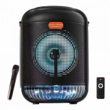 Boxa audio Bluetooth Smart Bass 6613, USB, LED, radio FM, microfon, General