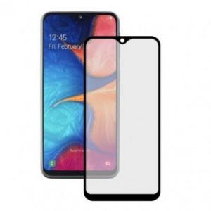 Folie protectie display sticla 6D FULL GLUE Samsung Galaxy A20 BLACK