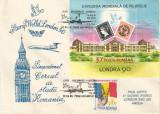 România, Stamp World London, Cercul de studii România, plic, Bucureşti, 1995
