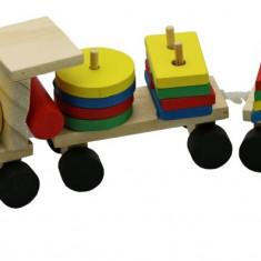 Trenulet Woddy lemn