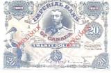 !!! COPIE =  CANADA  -  20  DOLARI  1902  - UNC / CEA DIN SCAN