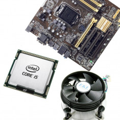 KIT Placa de baza Asus B85M-C/C/SI, Intel Core i5 4570 3.2GHz, 16GB DDR3,...