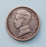 SPANIA - 1 Peseta 1903 - Alfonso XIII - Argint 5 g