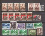 Lot 23 timbre stampilate Rusia, 1936-50, peste 160 euro cota Michel