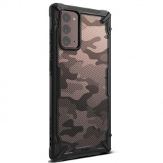 Carcasa Ringke Fusion X Samsung Galaxy Note 20 Camo Black
