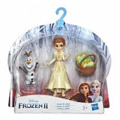 Frozen 2 - Mini figurine cu prieteni Anna si Olaf