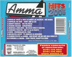 CD Amma Hits 2008, original, manele