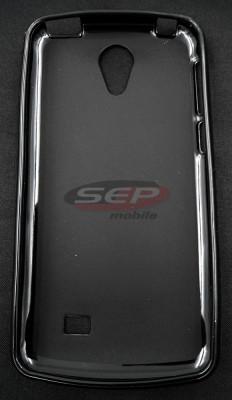 Toc plastic siliconat allview x3 soul style negru foto
