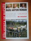 VALAHIA DE MIAZAZI de RADU ANTON ROMAN