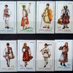 Costume nationale,serie neuzata MNH, L.P. 690-93, 1969