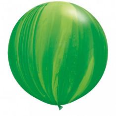 Balon Jumbo Super Agate Green Rainbow 75 cm