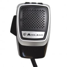 Aproape nou: Microfon Midland electret 6 pini seria Precision pentru statii 48/78/2
