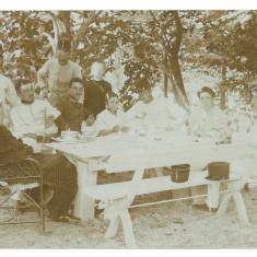 966 - CAREI Satu-Mare, Military & Family - old postcard real PHOTO - used - 1906