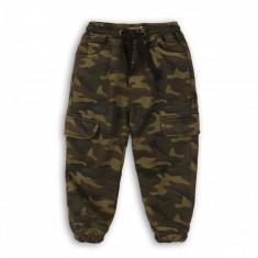 Pantaloni lungi cu snur Minoti Brook, Camuflaj
