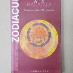 ZODIACUL de ANDRE BARBAULT - BALANTA - 23 SEPTEMBRIE - 22 OCTOMBRIE , 2002