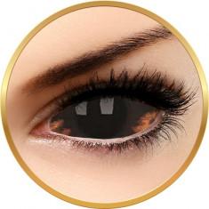 Sclera Morbius - lentile de contact colorate negre anuale - 185 purtari (2 lentile/cutie)