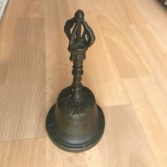 Clopot din  bronz 19 cm, Clopote