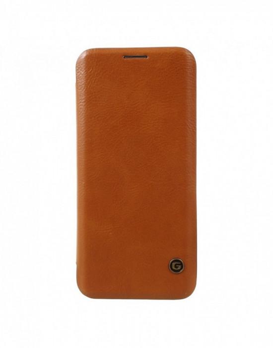 Husa protectie G Case din piele ecologica pentru Samsung Galaxy S8 Plus