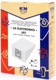 Sac aspirator LG TB 33 hartie 5X saci + 1 filtru KM