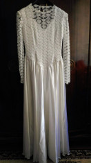 Rochie de mireasa vintage foto