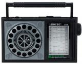 Radio portabil vintage LEOTEC LT28MARO, 3w, 8 ohm, 7 benzi fm/mw/sw1-5 (Negru/Maro)
