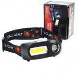 Lanterna de cap KX-1804 cu 3 setari de lumina