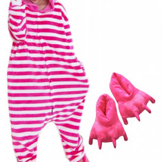 PJS35-552 Set pijama kigurumi + papuci de casa