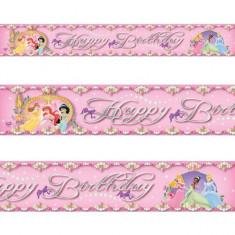 Banner decorativ folie metalizata Princess Party 4.65m