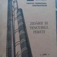 Constructii Din Elemente De Beton Armat, Zidarii Si Tencuieli - Radu Suman ,522028