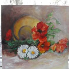 Maci 1-pictura ulei pe panza