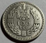 100 Lei 1932 Londra, Argint, Romania XF