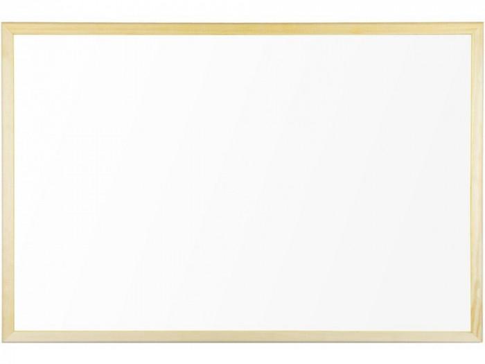Whiteboard cu ramă din lemn 90 x 60 cm Bi-silque
