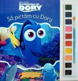 Disney. În căutarea lui Dory. Să pictăm cu Dory. Carte de colorat cu pensulă și acuarele