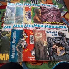 REVISTA MEDICINA MODERNA LOT 10 BUC NR.3-12 1994 PRET PENTRU TOATE
