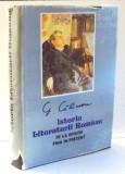 ISTORIA LITERATURII ROMANE DE LA ORIGINI PANA IN PREZENT , EDITIE NOUA , REVAZUTA DE AUTOR de G. CALINESCU , 1993