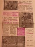 Ziar SPORTUL - Supliment FOTBAL (14.03.1986) STEAUA Bucuresti