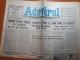 Ziarul adevarul 8 martie 1990-procesul de la timisoara,vinovatii revolutiei