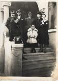 Fotografie ofiteri romani aviatie anii 1930 poza veche