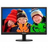 Monitor Philips 203V5L, 20 Inch LCD, 1600 x 900, VGA