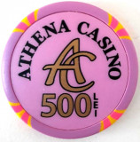 Jeton Athena Casino 500 Lei