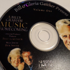 A BILLY GRAHAM MUSIC HOMECOMING  -   CD